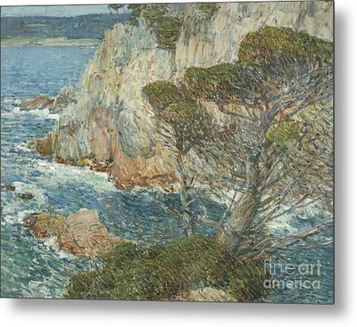 Point Lobos, Carmel, 1914 Metal Print by Childe Hassam
