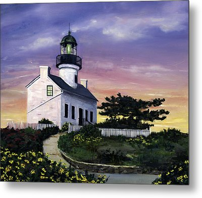 Point Loma Metal Print by Lisa Reinhardt