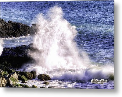Point Mugu Explosion Metal Print by William Havle
