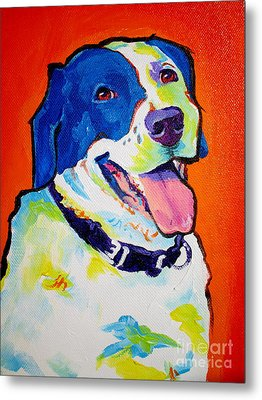 Pointer - Causi Metal Print by Alicia VanNoy Call