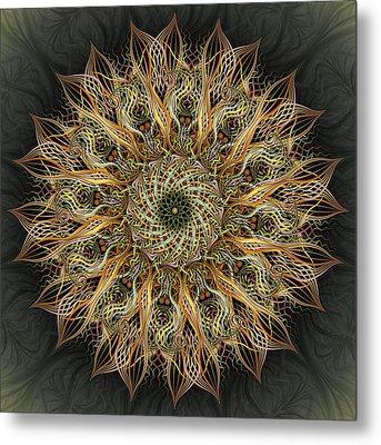 Pollen Metal Print by Becky Titus