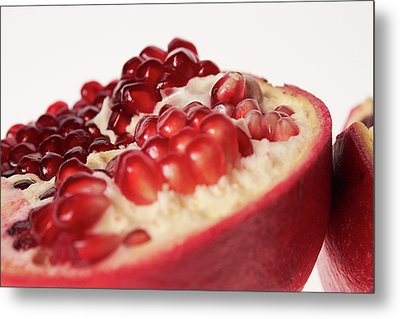Pomegranate Metal Print by Shioguchi