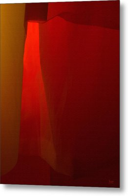 Poncho Abstract 1 Metal Print by Jeff Breiman