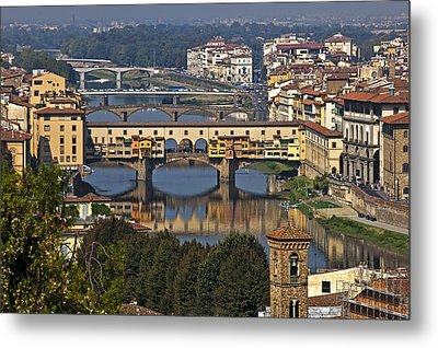 Ponte Vecchio - Florence Metal Print by Joana Kruse