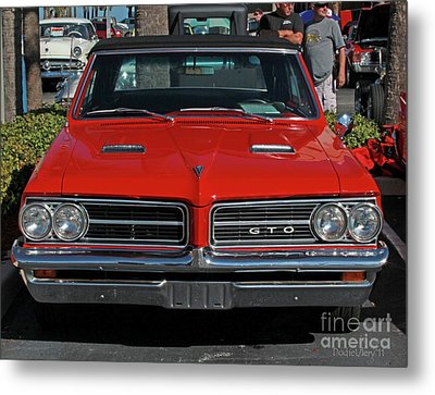 Metal Print featuring the photograph Pontiac Gto by Dodie Ulery