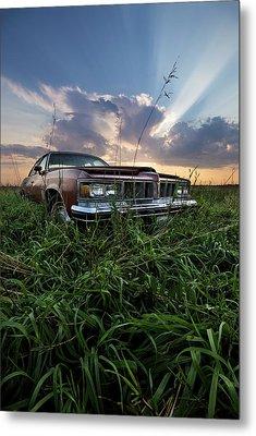 Pontiac Sunset  Metal Print