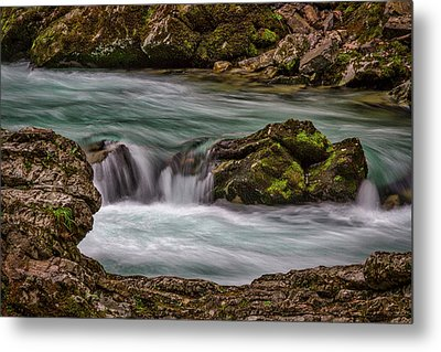 Metal Print featuring the photograph Pool In The River by Stuart Litoff