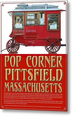 Pop Corner With History Metal Print by Len Stomski