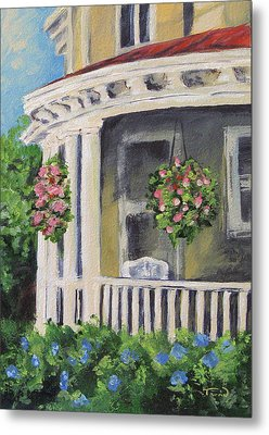Porch Metal Print by Torrie Smiley