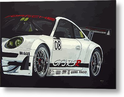 Porsche Gt3 Rsr Metal Print