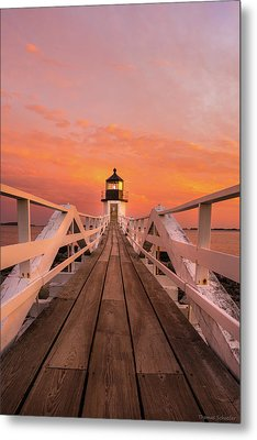 Port Clyde Maine - Marshall Point Metal Print
