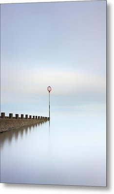Metal Print featuring the photograph Portobello Long Exposure by Grant Glendinning