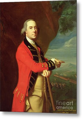 Portrait Of General Thomas Gage Metal Print by John Singleton Copley