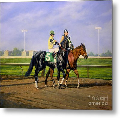 Post Parade Metal Print by Jeanne Newton Schoborg