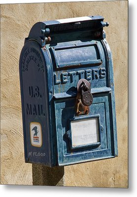 Postbox 61419 Metal Print by Michael Flood