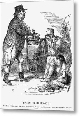 Potato Famine, 1846 Metal Print by Granger