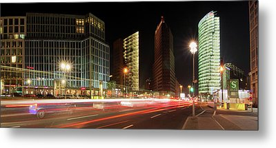 Potsdamer Place Metal Print by Marc Huebner