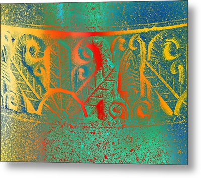 Pottery On The Street Metal Print
