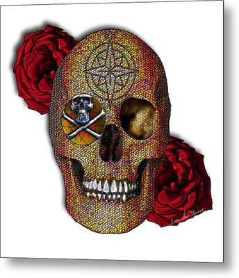Power And Wisdom Metal Print by Iowan Stone-Flowers