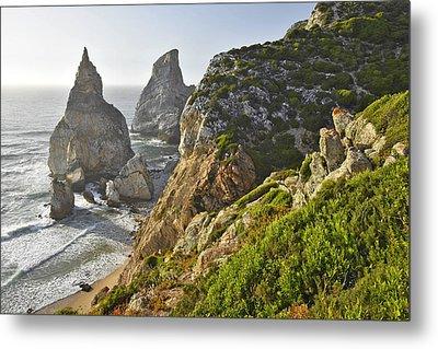 Metal Print featuring the photograph Praia Da Ursa Portugal by Marek Stepan