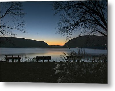 Dawn At Plum Point Metal Print by Angelo Marcialis
