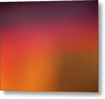 Metal Print featuring the photograph Pretend Sunrise by CML Brown