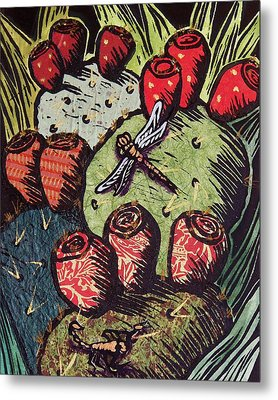 Prickly Pear Metal Print by Candy Mayer