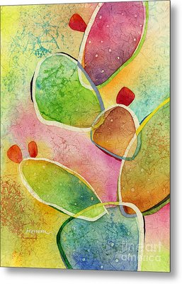Prickly Pizazz 1 Metal Print by Hailey E Herrera
