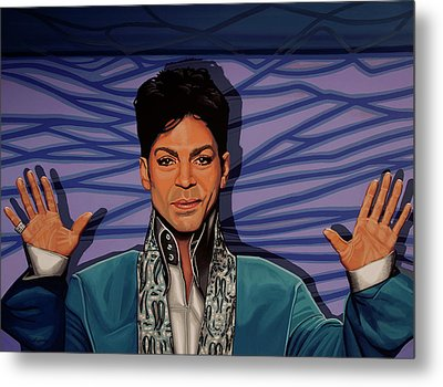 Prince 2 Metal Print by Paul Meijering