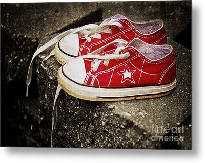 Princess Shoes Metal Print by Scott Pellegrin