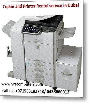 Printer Rent @ Low Cost Metal Print by Vrscomputers
