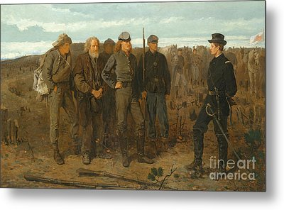 Prisoners From Front, 1866 Metal Print