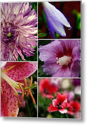 Profusion Metal Print by Priscilla Richardson