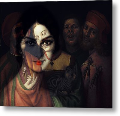 Promises Made In The Heat Of The Night  Metal Print by Paul Lovering