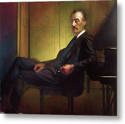 Puccini Metal Print by Michael Newberry