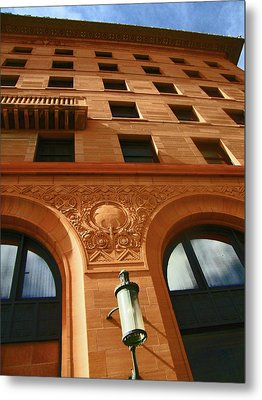 Pueblo Downtown Thatcher Building 2 Metal Print