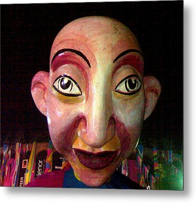 Puppet Kushi Mohamad Metal Print