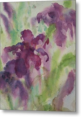 Purple Magic Metal Print by Sandy Collier