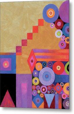 Pythagorus' Abstract I Metal Print by Bob Coonts