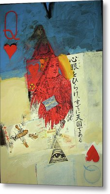 Queen Of Hearts 40-52 Metal Print by Cliff Spohn