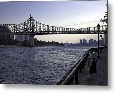 Queensboro Bridge - Manhattan Metal Print