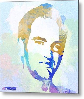 Quentin Tarantino Metal Print by Naxart Studio