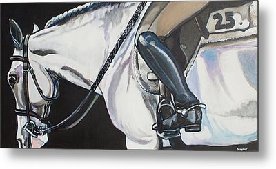 Quiet Ride Metal Print by Stephanie Come-Ryker