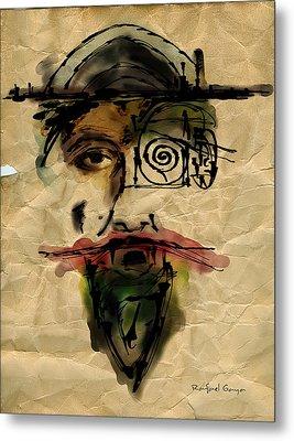 Quoijote 002 Metal Print by Rafael Gaya