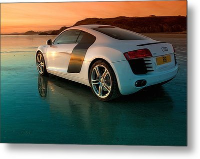 R8 On The Beach 2 Metal Print by Rory Trappe