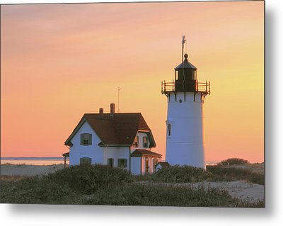 Race Point Light Metal Print by Roupen  Baker
