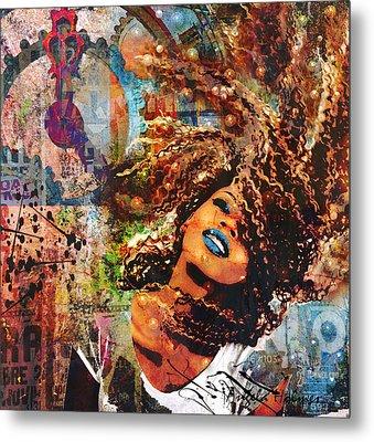 Radiant Metal Print by Angela Holmes
