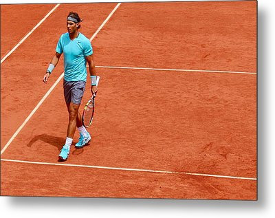 Rafa Between Points Metal Print