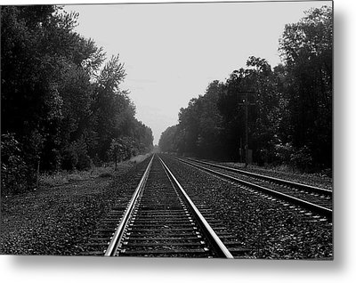 Railroad To Nowhere Metal Print