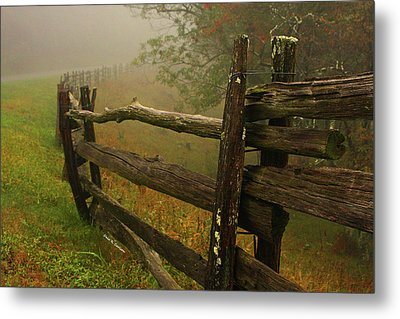 Rails Of Time Metal Print